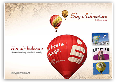 Hot air balloons - Giant advertising vehicles in the sky